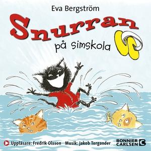 Snurran på simskola (ljudbok) av Eva Bergström