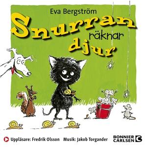 Snurran räknar djur (ljudbok) av Eva Bergström