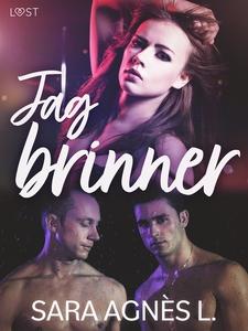 Jag brinner - erotisk novell (e-bok) av Sara Ag