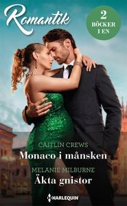 Monaco i månsken/Äkta gnistor (e-bok) av Melani