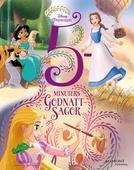 5 minuters godnattsagor Disney prinsessor