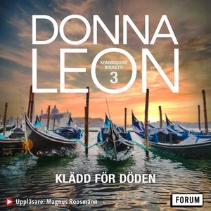 Klädd för döden (ljudbok) av Donna Leon