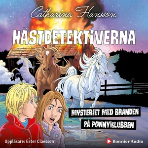 Hästdetektiverna. Mysteriet med branden på ponn