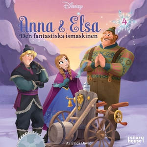 Anna & Elsa  #4: Den fantastiska ismaskinen (lj