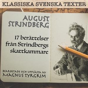Strindbergs skattkammare (ljudbok) av August St