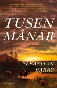 Tusen månar (e-bok) av Sebastian Barry