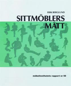 Sittmöblers mått (e-bok) av Erik Berglund