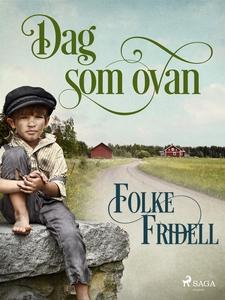Dag som ovan (e-bok) av Folke Fridell