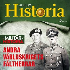 Andra världskrigets fältherrar (ljudbok) av All