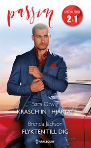 Krasch in i hjärtat/Flykten till dig (e-bok) av