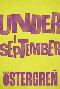 Under i september (e-bok) av Klas Östergren
