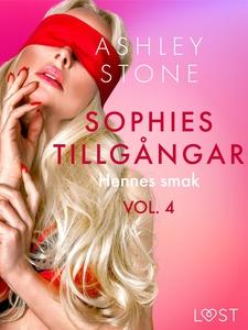 Sophies tillgångar vol. 4:  Hennes smak - eroti
