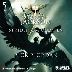 Percy Jackson: Striden om Olympen (ljudbok) av