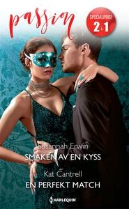 Smaken av en kyss/En perfekt match (e-bok) av K