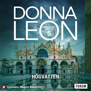 Högvatten (ljudbok) av Donna Leon