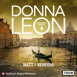 Natt i Venedig (ljudbok) av Donna Leon
