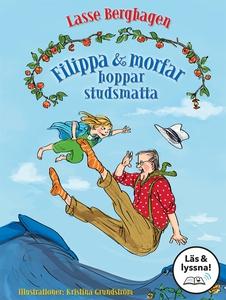 Filippa & morfar hoppar studsmatta (Läs & lyssn