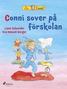 Conni sover på förskolan (e-bok) av Liane Schne