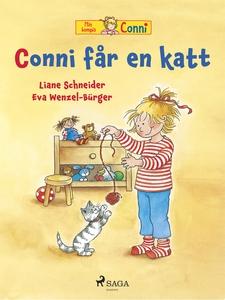 Conni får en katt (e-bok) av Liane Schneider