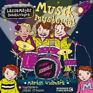 Musikmysteriet (ljudbok) av Martin Widmark