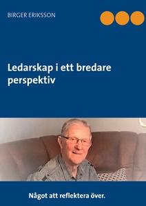 Ledarskap i ett bredare perspektiv (e-bok) av B