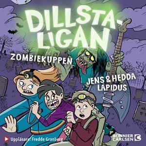 Dillstaligan: Zombiekuppen (ljudbok) av Jens La