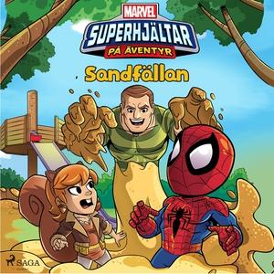 Marvel - Superhjältar på äventyr - Sandfällan (