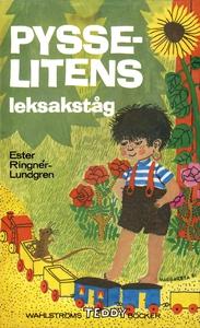 Pysselitens leksakståg (e-bok) av Ester Ringnér