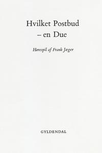 Hvilket postbud - en due (e-bog) af F