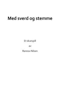 Med sverd og stemme (ebok) av Rannov Nilsen