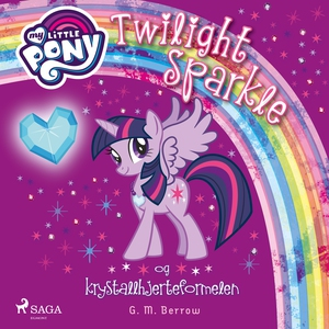 My Little Pony - Twilight Sparkle og krystall