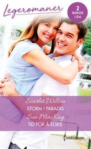 Storm i paradis / Tid for å elske (ebok) av M