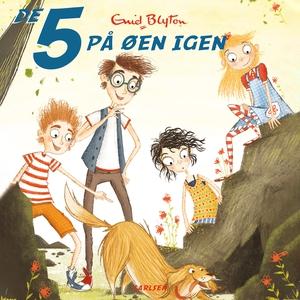 De 5 på øen igen (lydbog) af Enid Bly