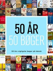 50 år - 50 bøger (e-bog) af Palle Wei