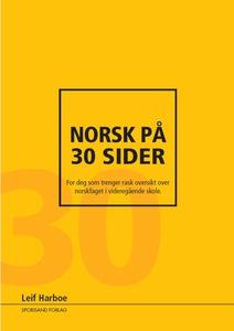 Norsk på 30 sider (ebok) av Leif Harboe