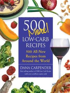500 More Low-Carb Recipes (e-bok) av Dana Carpe