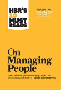 HBR's 10 Must Reads on Managing People (with fe