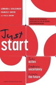 Just Start (e-bok) av Leonard Schlesinger, Char