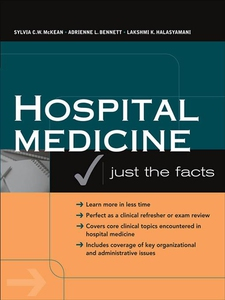 Hospital Medicine (e-bok) av Sylvia C. McKean,