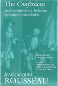 The Confessions and Correspondence, Including the Letters to Malesherbes
