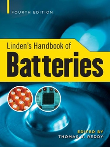 Linden's Handbook of Batteries, 4th Edition (e-