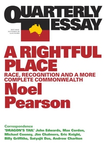 Quarterly Essay 55 A Rightful Place (e-bok) av