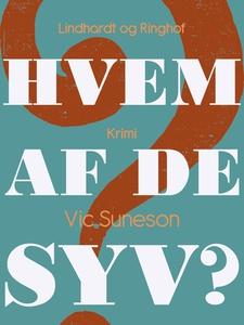 Hvem af de syv? (e-bog) af Vic Suneso