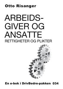 Arbeidsgiver og ansatte (ebok) av Otto Risang