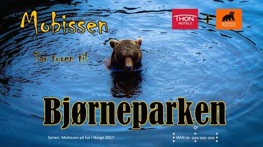 Mobissen tar turen til Bjørneparken (ebok) av