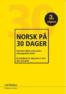 Norsk på 30 dager (revidert i  2018) (ebok) a