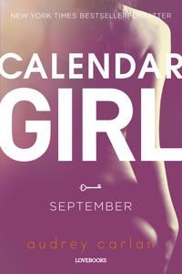 Calendar Girl: September (e-bog) af A