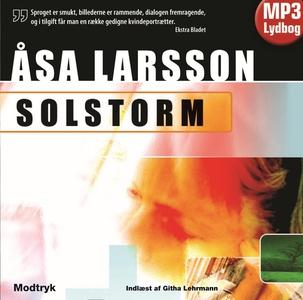 Solstorm (lydbog) af Åsa Larsson