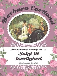 Solgt til kærlighed (e-bog) af Barbar