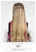 Fin på håret med FletteMia: Fossefallsflette